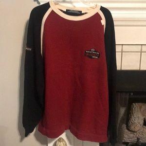 Men's Vintage Tommy Hilfiger Cycle Sweatshirt LG